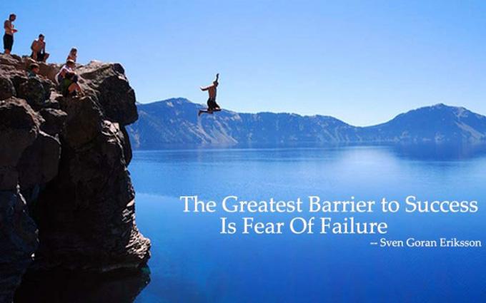 A siker előtti legnagyobb akadály, saját félelmünk legyőzése